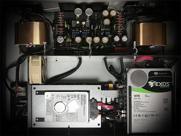 EWEAT Digital audio player DMP50 transformer and HDD