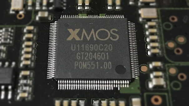 EWEAT Digital audio player DMP50 use XMOS